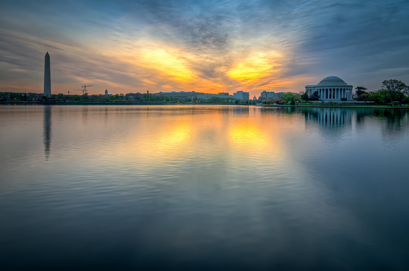 Tidal Basin Sunrise 2 - Washington, DC
