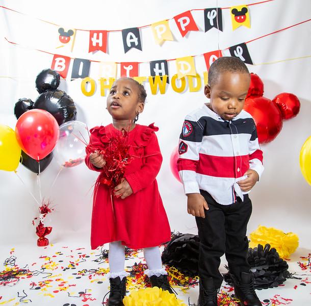 Kaeden and Kae'lani 2 year old birthday shoot (2.2.2020)