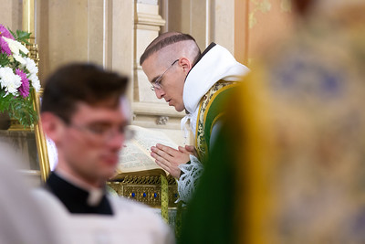 Solemn High First Mass in the Presence of a Greater Prelate