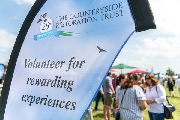 Countryside Restoration Trust stand  at Cambridgeshire Show 2018