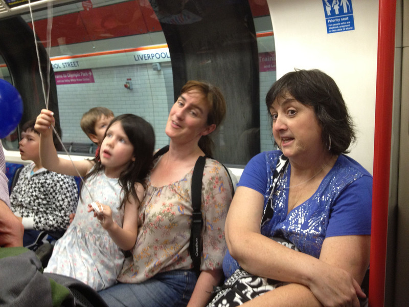 Making friends on the Tube