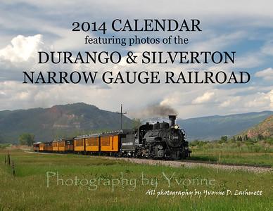 2014 Durango Train Calendar