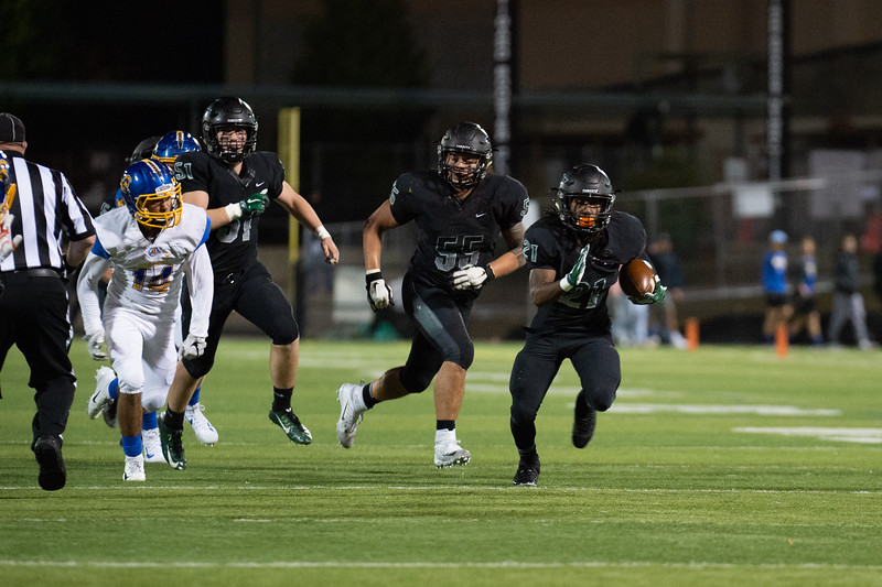 Tigard HS Varsity Football Vs Aloha HS