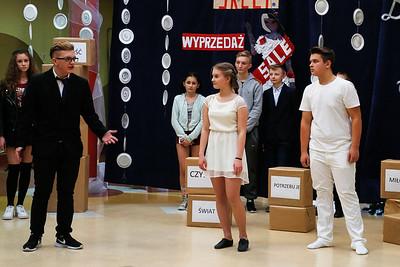 2016-12-22 - Mszczonów - Wigilia w Gimnazjum