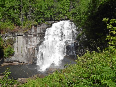 Rainbow Falls from Gorges State Park