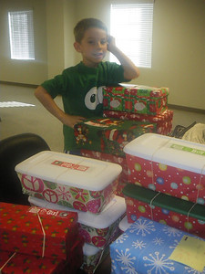 November 13th ~ Operation Christmas Child Drop Off