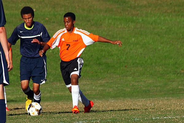 JV Soccer v Lynchburg Homeschool