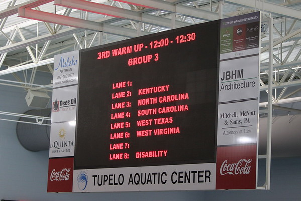 SCZT Day 2  11-12 400 IM and  13-up 800 Free