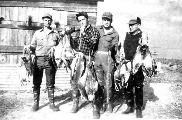 Walter A. 'Rip' Smock Hunting Photos