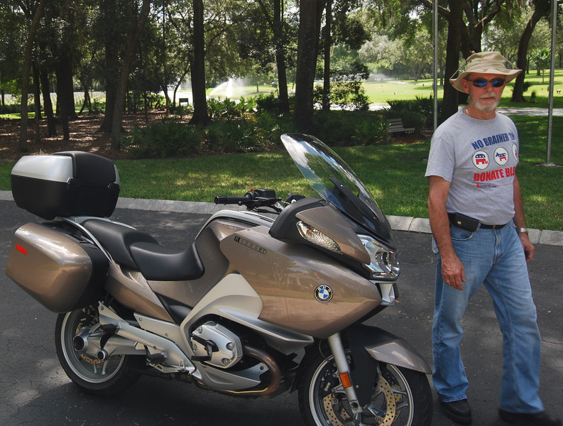 22 John and his BMW at Florida National Cemetery.jpg