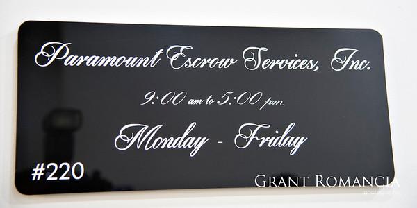 Paramount Escrow Services