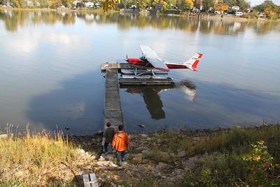 Hydroplane ride with Louis Cyr