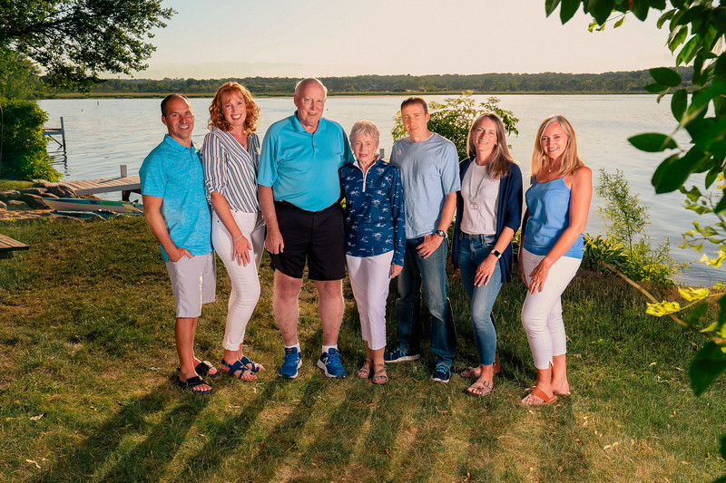 Madden Family on Lake Como