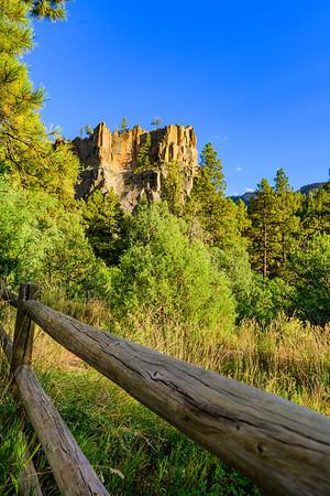 Battleship Rock - Jemez Mountains, New Mexico - 2019