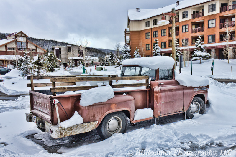 """My truck - """"Old Penny"""" - The morning after..."""