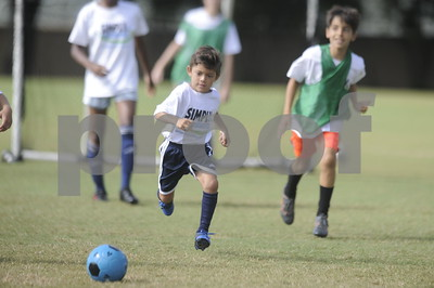 Simply Soccer Summer Camp Week 8, 2019