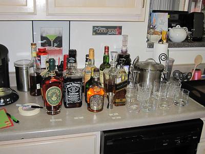 At Home Whiskey Tasting - December 2010