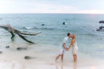 Ingrid + Ethan Kona Engagement Session