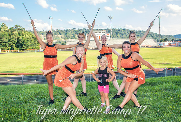Lil Majorettes Camp 2017