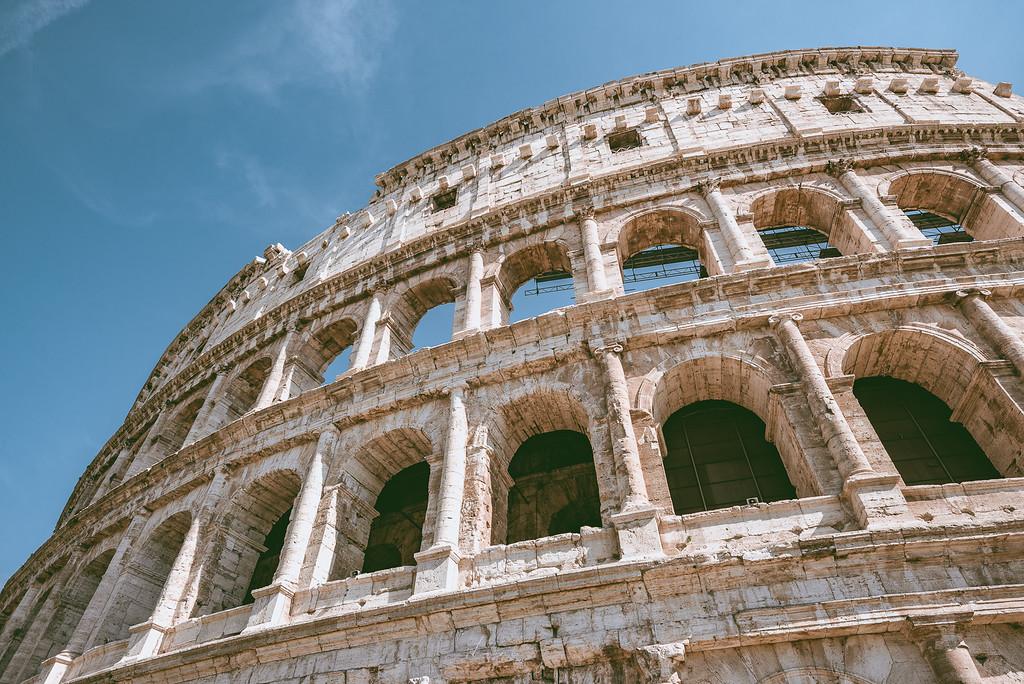 格鬥士戰地 羅馬競技場 Colosseum by 旅行攝影師 Wilhelm Chang