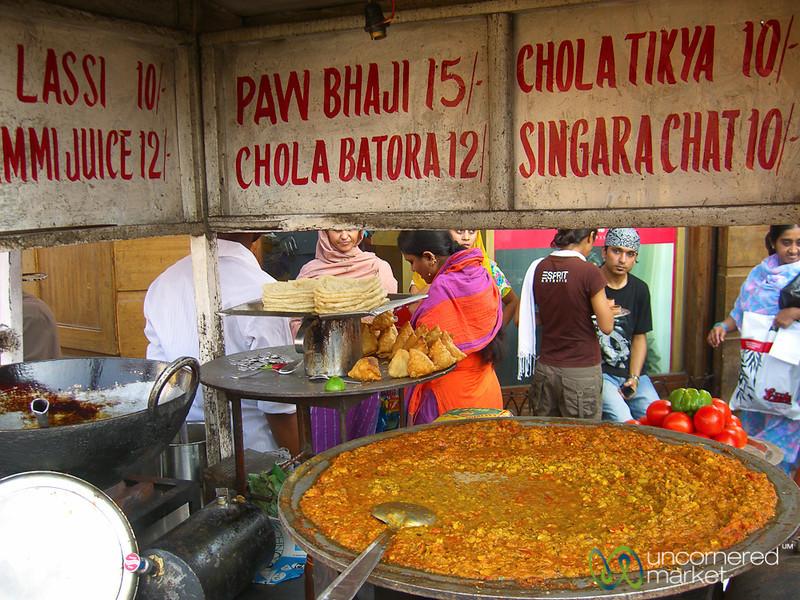 Street Food in the Chowringhee Area - Kolkata, India