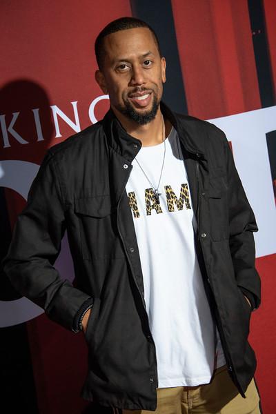 """LOS ANGELES, CALIFORNIA - OCTOBER 29: Affion Crockett attends the premiere of Warner Bros Pictures' """"Doctor Sleep"""" at Westwood Regency Theater on Tuesday October 29, 2019 in Los Angeles, California. (Photo by Tom Sorensen/Moovieboy Pictures,)"""