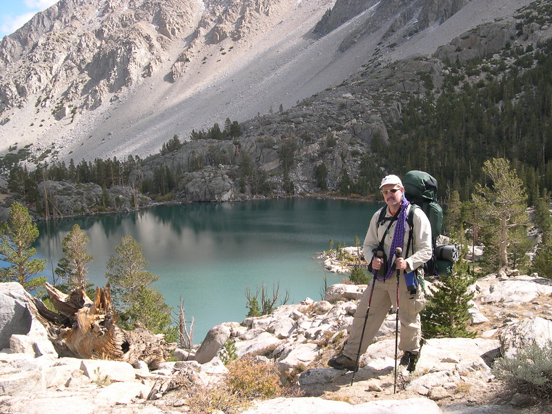 (2004-October 1-3)  East Palisade Basin.  Inyo National Forest, California.
