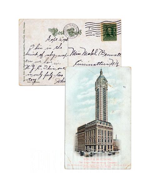 Singer Building - 1908