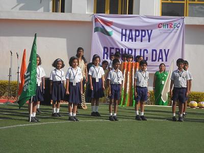Republic Day & Grand Parent's Day At Gachibowli