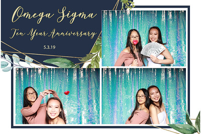 Omega Sigma 10 Year Anniversary