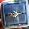 .81ct Old European Cut Diamond in Brian Gavin Setting 15