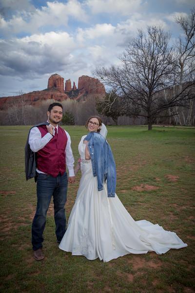 Mandie & Max's Sedona Wedding