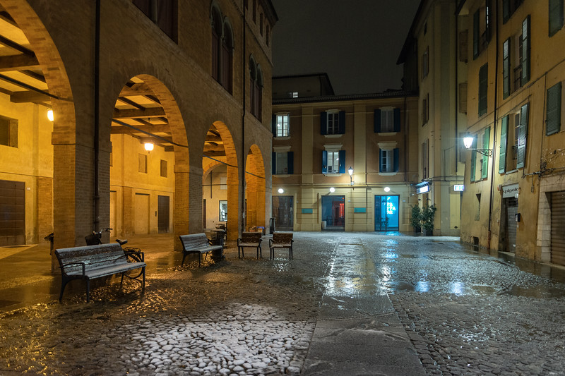 Piazza Antonio Casotti - Reggio Emilia, Italy - January 30, 2019