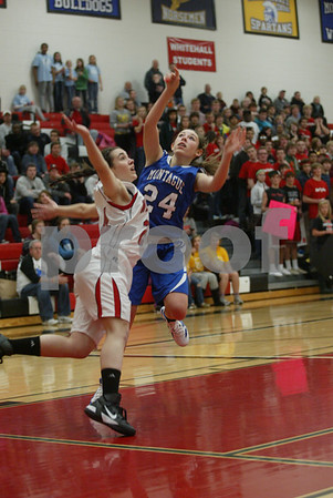 Montague / Whitehall girls basketball 12 09 2011