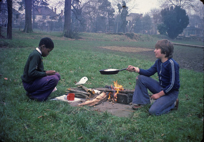 Cooking on fires