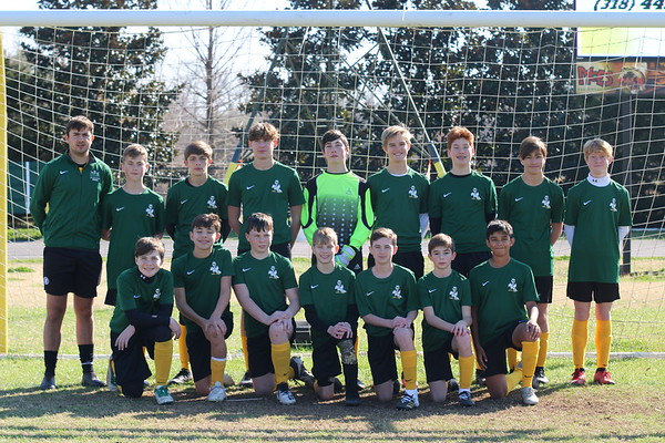 Jr high Boys Soccer (Green)