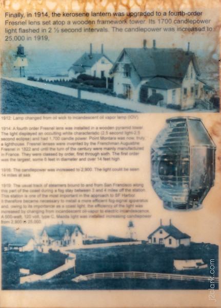 Montara Lighthouse History - Panel 7