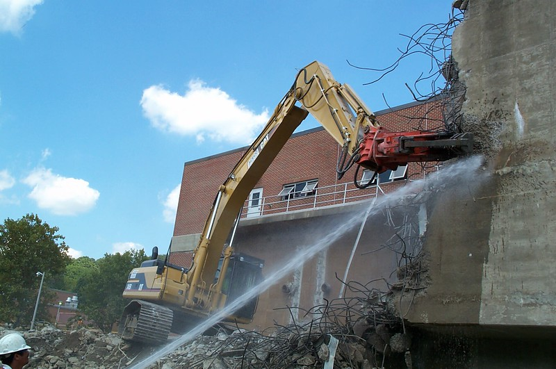 NPK M38G concrete pulverizer on Cat excavator-commercial demolition (1).jpg