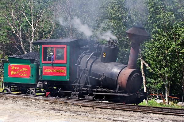 Cog Railway Locomotive, Mount Washington, NH