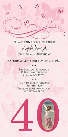 Angela's 40th Birthday
