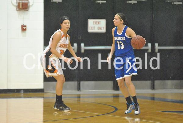 2-22-14 Class 3A-Region 6 Girls Basketball Final: Camanche vs. Mediapolis