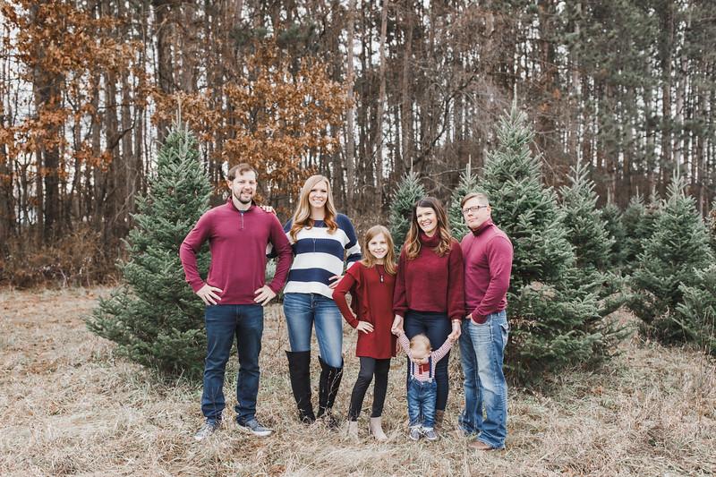 Bartlett & Family | Williams Tree Farm Winter Sessions