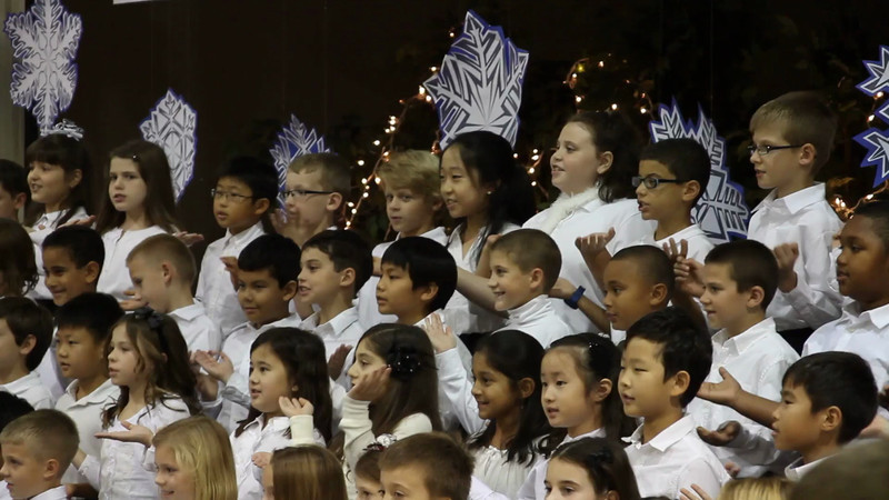 2012 - 3rd Grade Xmas Presentation