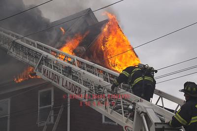 Malden, MA - 2nd Alarm, 740 Salem Street, 4-27-12