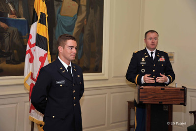Johns Hopkins University SROTC Commissioning Ceremony, 23 MAY 12