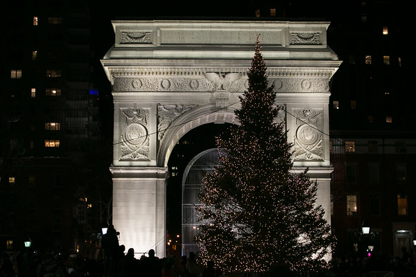 Washington Square Park Tree Lighting 2017