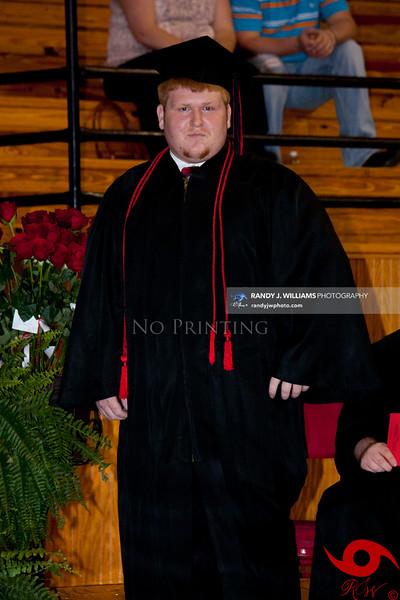 Jumpertown High School's Graduation (2012)