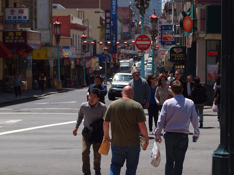 Another day in Chinatown.