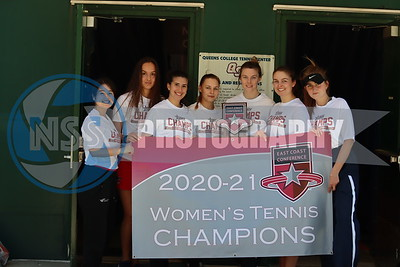 5.1.21 Queens College Women's Tennis vs. St. Thomas Aquinas (ECC Championship)