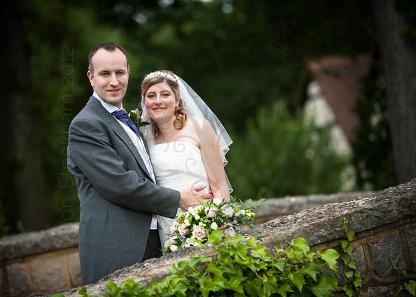 Marian & Paul's wedding day, Coworth Park